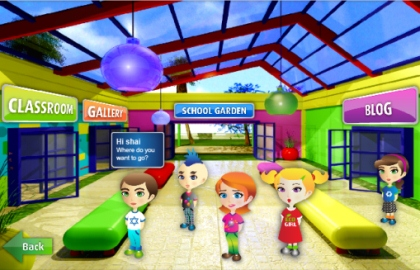 Eco Campus Virtual School Lobby
