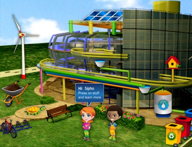 Eco Campus Virtual School Garden