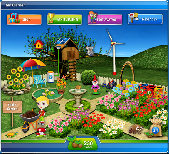 Eco Campus Avatar Garden